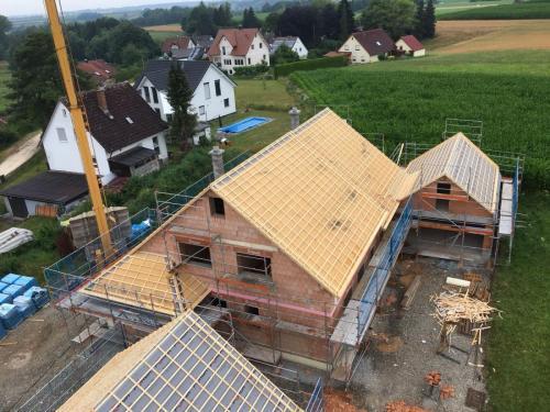 K1600 Dachstuhl Hochwang eingelattet