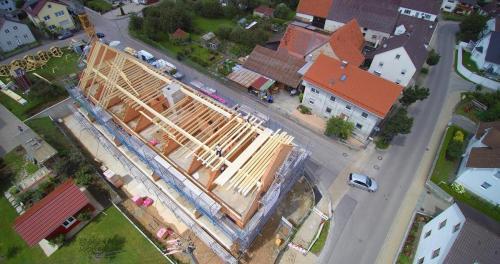 K1600 Dachstuhl Offingen Demenzwohnheim 4